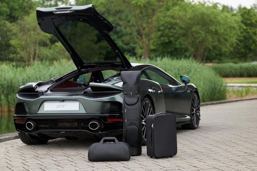 McLaren has introduced a $15k bespoke luggage set designed specifically for GT -