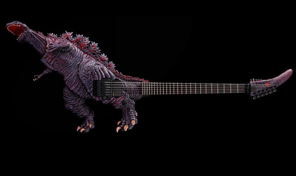 Monstrous Godzilla Electric Guitar (1)