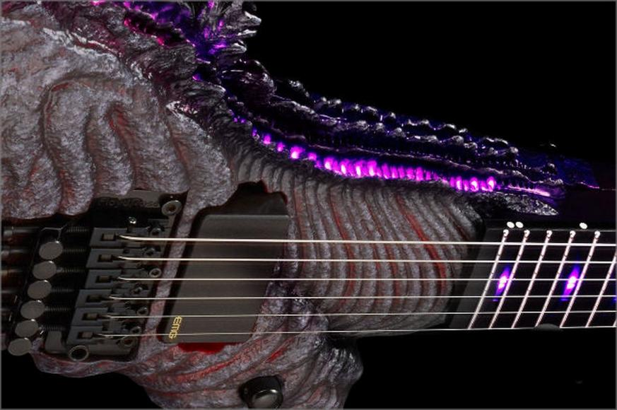 Monstrous Godzilla Electric Guitar (4)