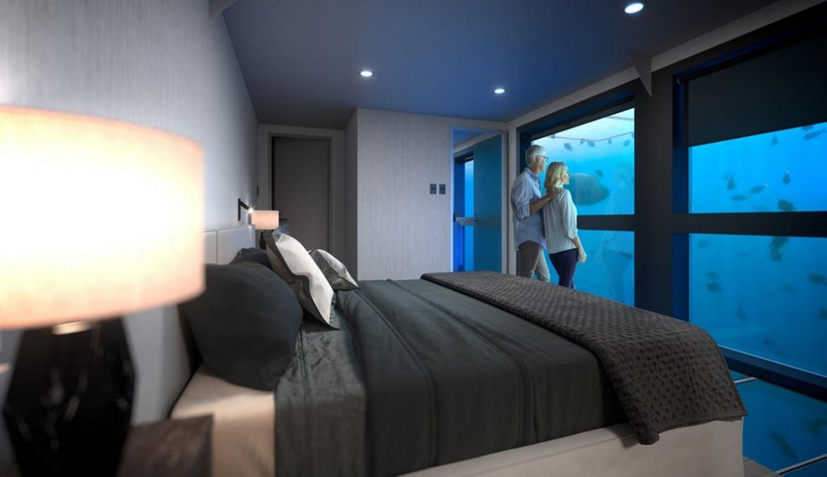 The Great Barrier Reef is getting a stunning underwater hotel -