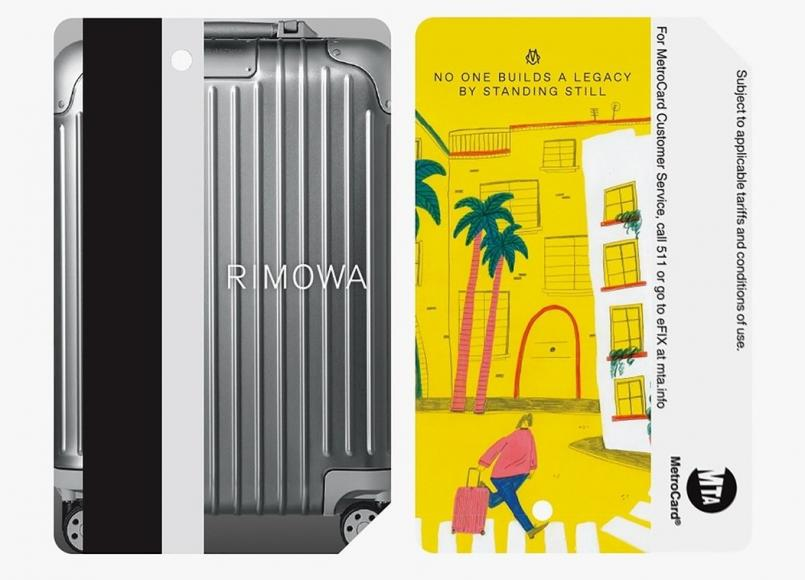 Rimowa limited-edition Metro cards NYC subway (1)