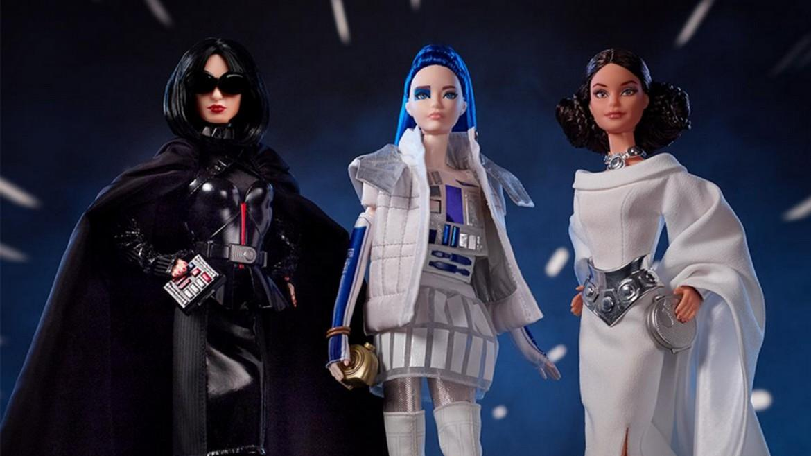 Star Wars barbie dolls are here for $100 each -