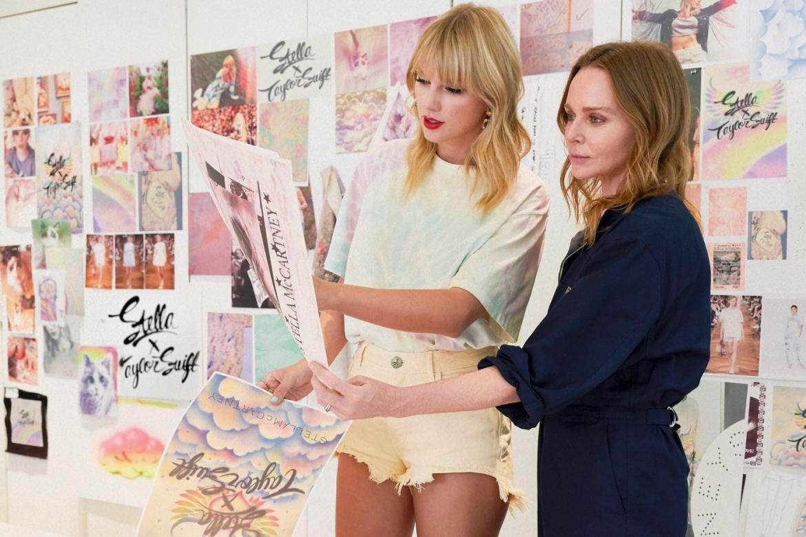 Stella McCartney and Taylor Swift join hands for a one-of-its kind fashion collection -