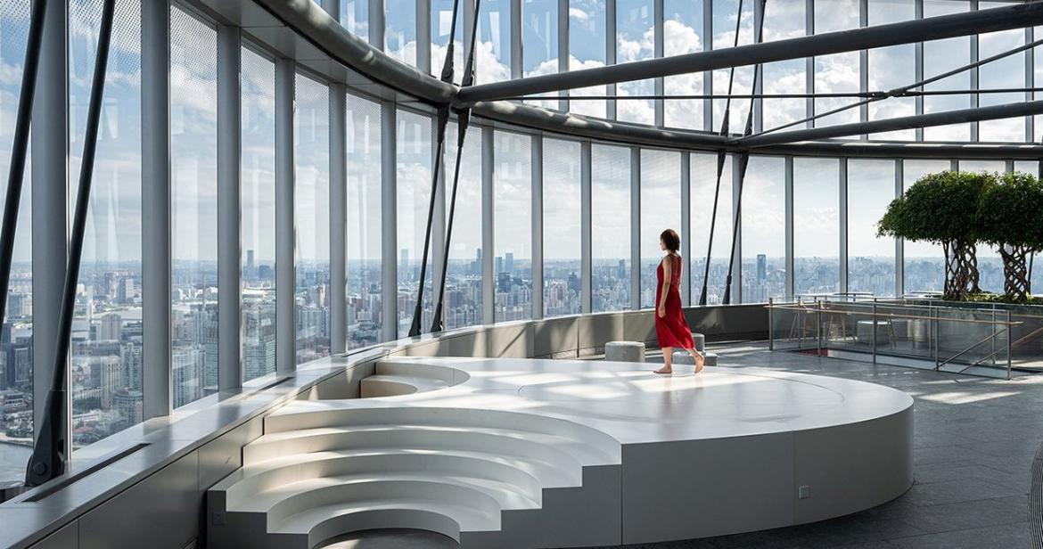 Perched high up on the 52nd floor- Could this be the most unique bookstore in the world? (Pics) -