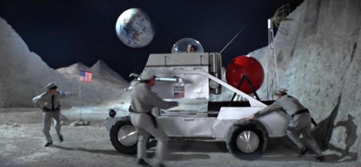 Moon buggy driven by Sean Connery as 007 in Diamonds are Forever is on sale for $614,000 -