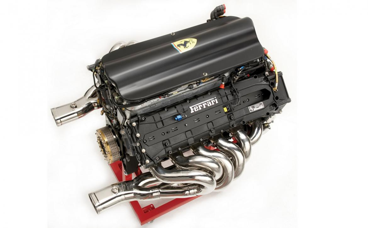 A V12 Ferrari Formula 1 engine from the '90s is for sale on eBay -