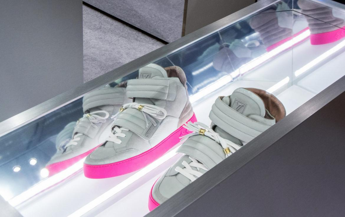 Bergdorf Goodman has partnered with GOAT for a rare sneaker installation -