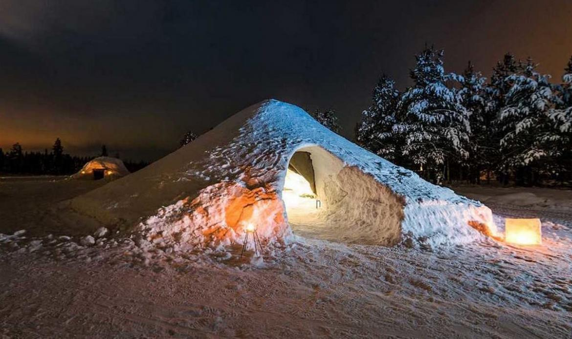 For $122 you can live in an igloo in Finland on Airbnb -
