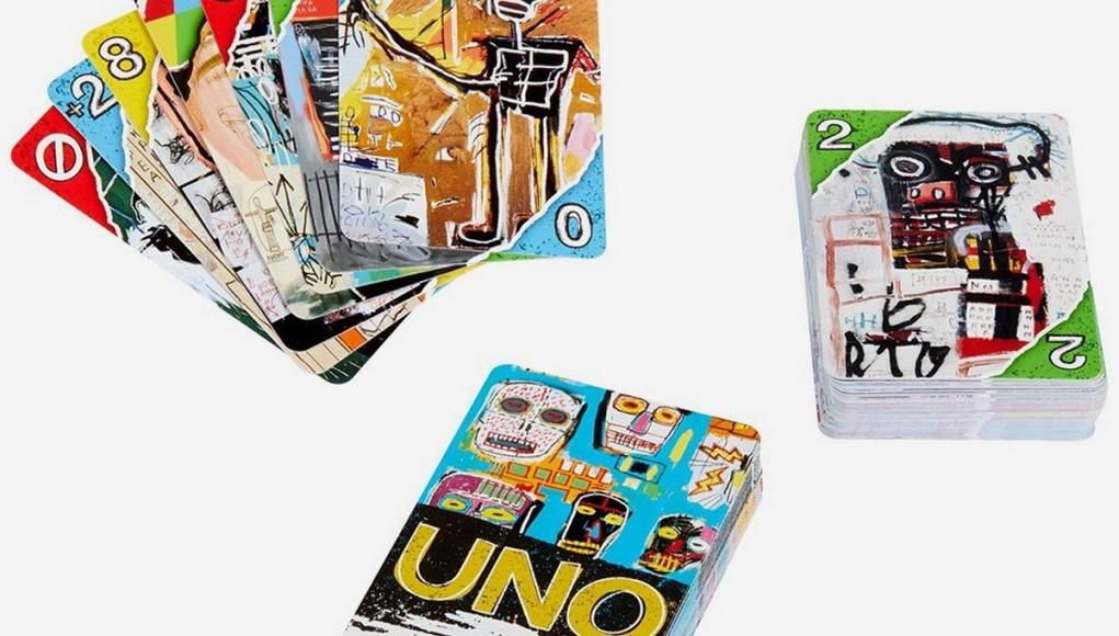 UNO debuts its artist series with Jean-Michel Basquiat Tribute Pack -