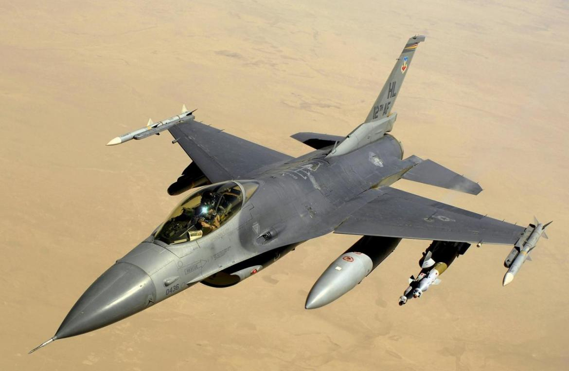 When a Bugatti is too mainstream - An F-16 fighter jet is on sale for $8.5 million -