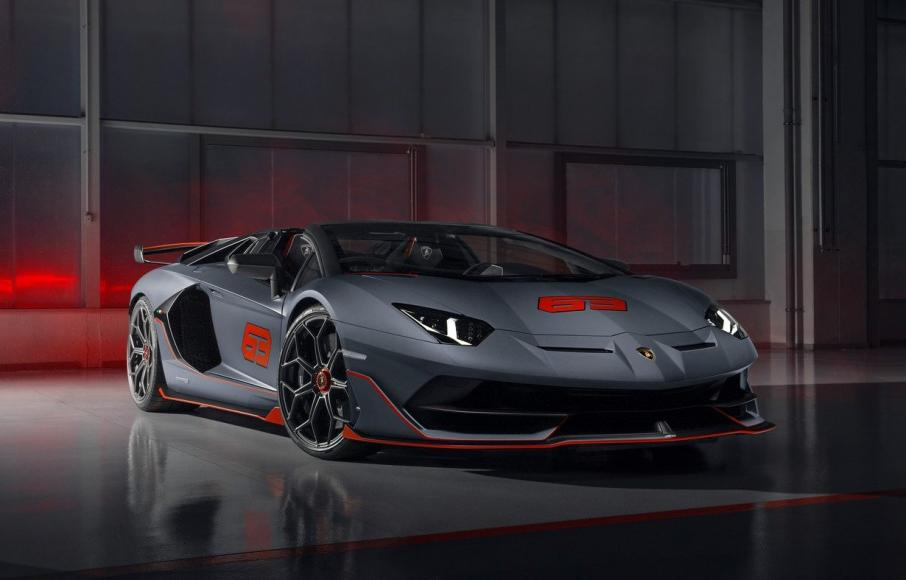 An open-top V12 that dreams are made up of - Lamborghini unveils the limited-edition Aventador SVJ 63 Roadster -