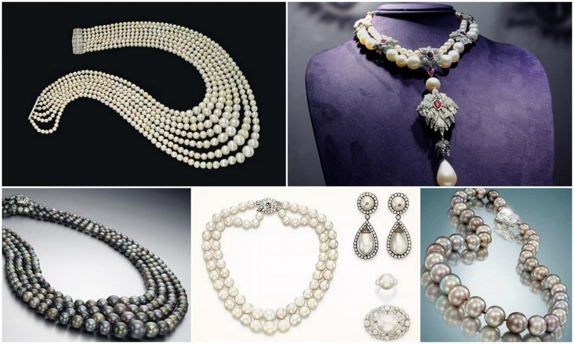 The 5 most expensive and exclusive pearl necklaces ever sold -