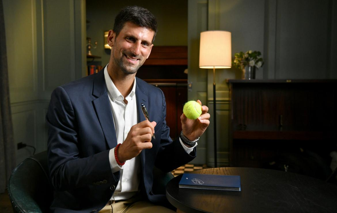 Montblanc and Novak Djokovic Foundation join hands for the special edition StarWalker writing set -