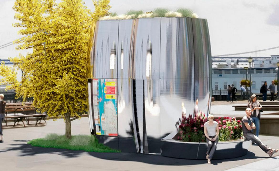 Toilets shaped like mini spaceships to find a place on the streets of San Francisco -