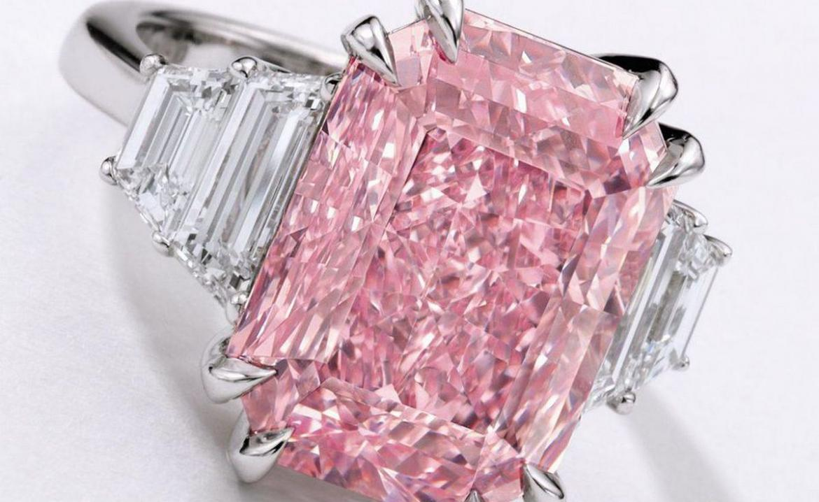 Of beauty and brilliance: Rare 10-Carat Pink Diamond estimated to fetch $25 Million at Sotheby's Hong Kong Auction -