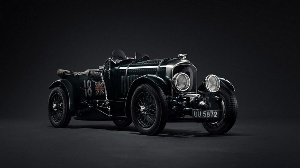 Bentley will build 12 replicas of the legendary 1929 4½-liter Team Blower race car