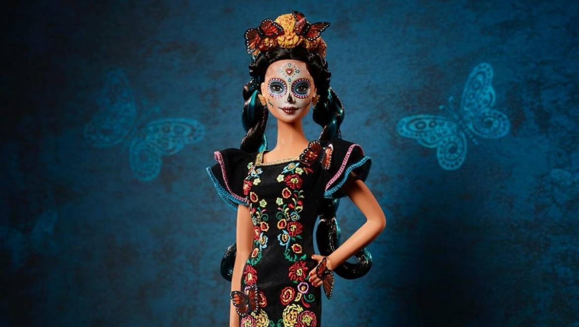 A limited-edition Barbie celebrates the 'Day of the dead' -