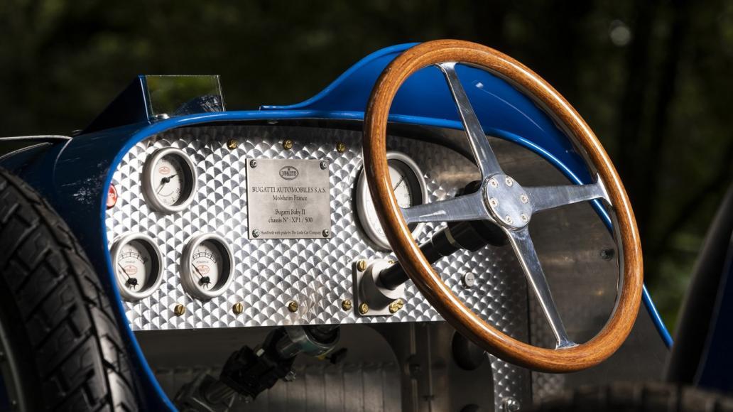 Bugatti Baby II electric car (3)