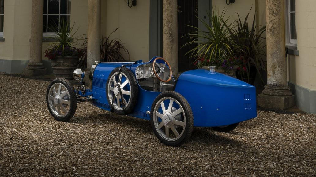 Bugatti Baby II electric car (4)