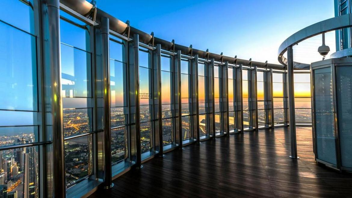 Now you can catch the sunrise from the top of the Burj Khalifa -