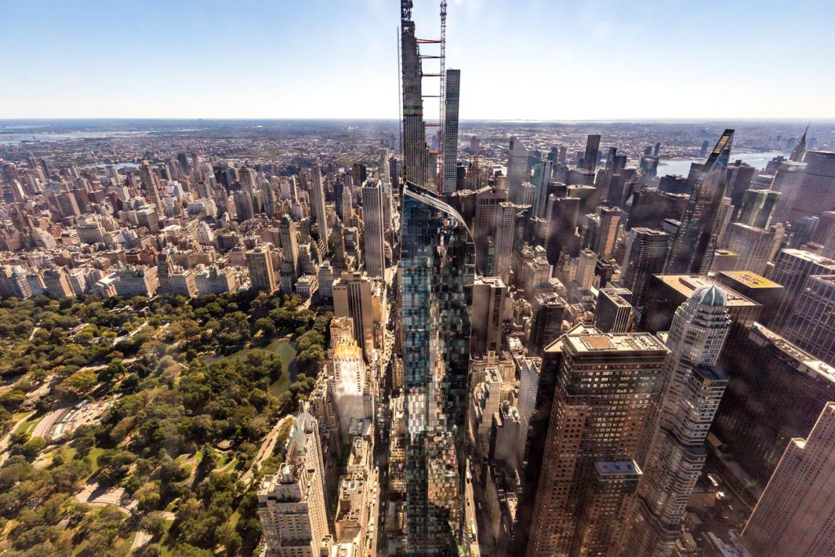 Here's a look at NYC's tallest residential building – The Central Park Tower -