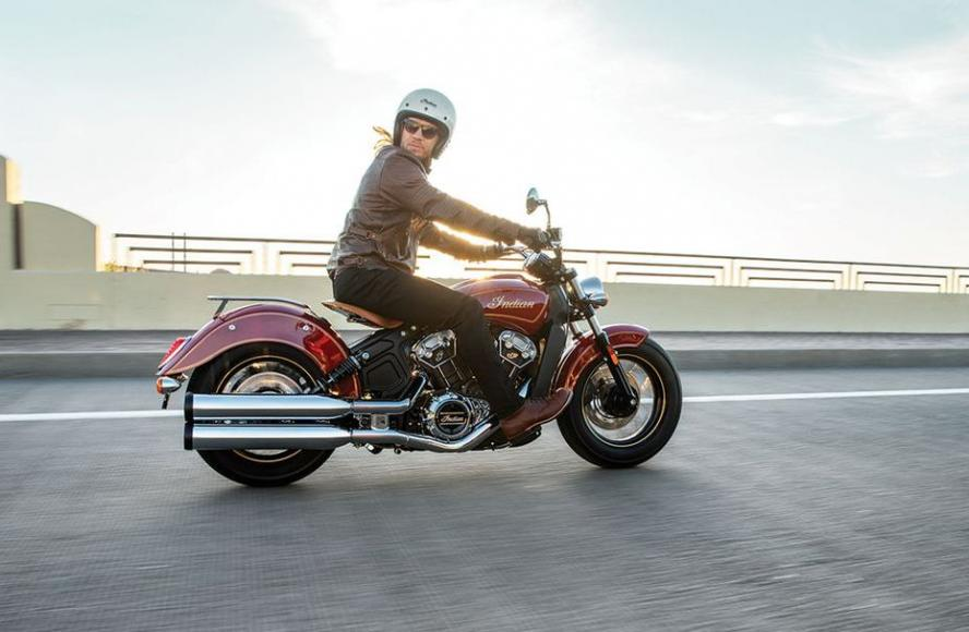 Indian Motorcycle Scout 100th Anniversary Edition (1)