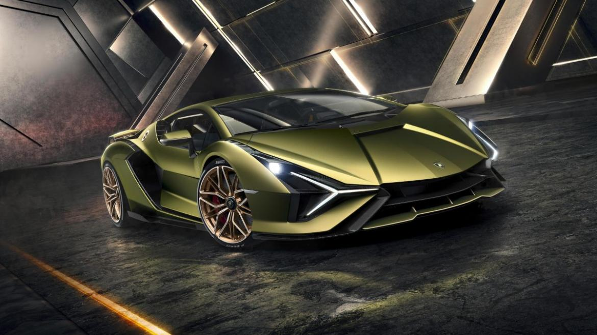 Lamborghini Sian is the brand's first electrified production car with 807HP and 217mph top speed -