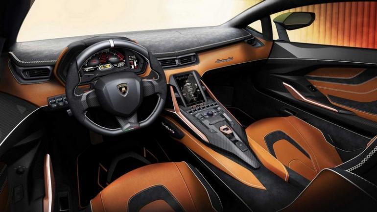 Lamborghini Sian is the brand's first electrified ...