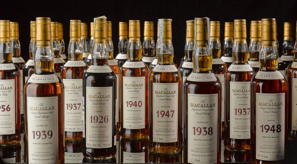 The most valuable collection of whiskey to go under the hammer for a whopping $4 million -