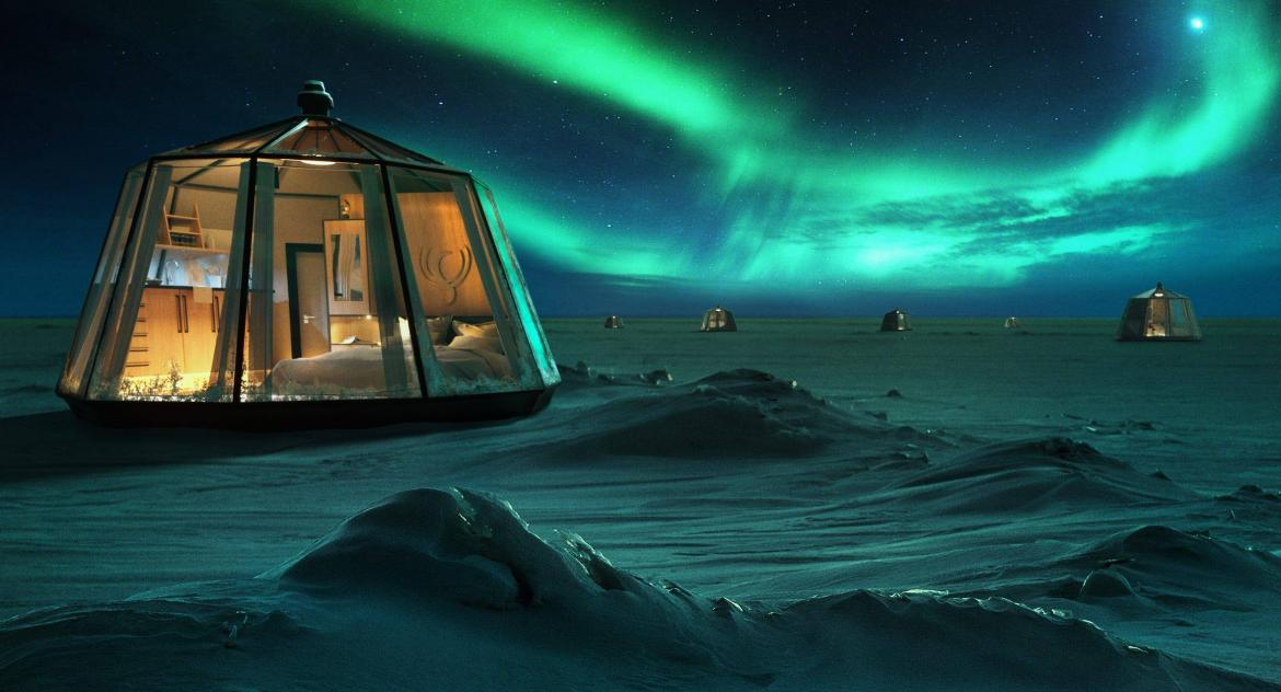 $100,000 per person - The North Pole is getting an igloo themed luxury pop up hotel -