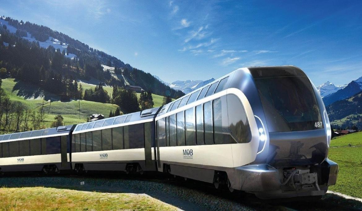 Pininfarina has designed the perfect train for exploring the Swiss Alps and it comes with panoramic windows -