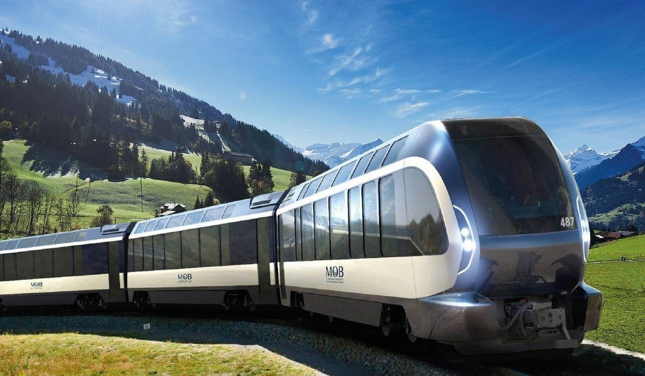 Pininfarina has designed the perfect train for exploring the Swiss Alps and it comes with panoramic windows