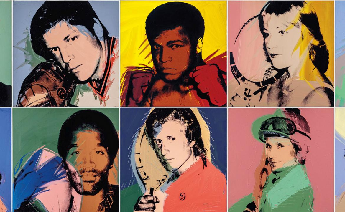 From Ali to Pele - Christie's to auction Andy Warhol's portraits of athletes this November -