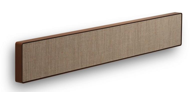 bang olufsen reveals its first soundbar that packs dolby. Black Bedroom Furniture Sets. Home Design Ideas