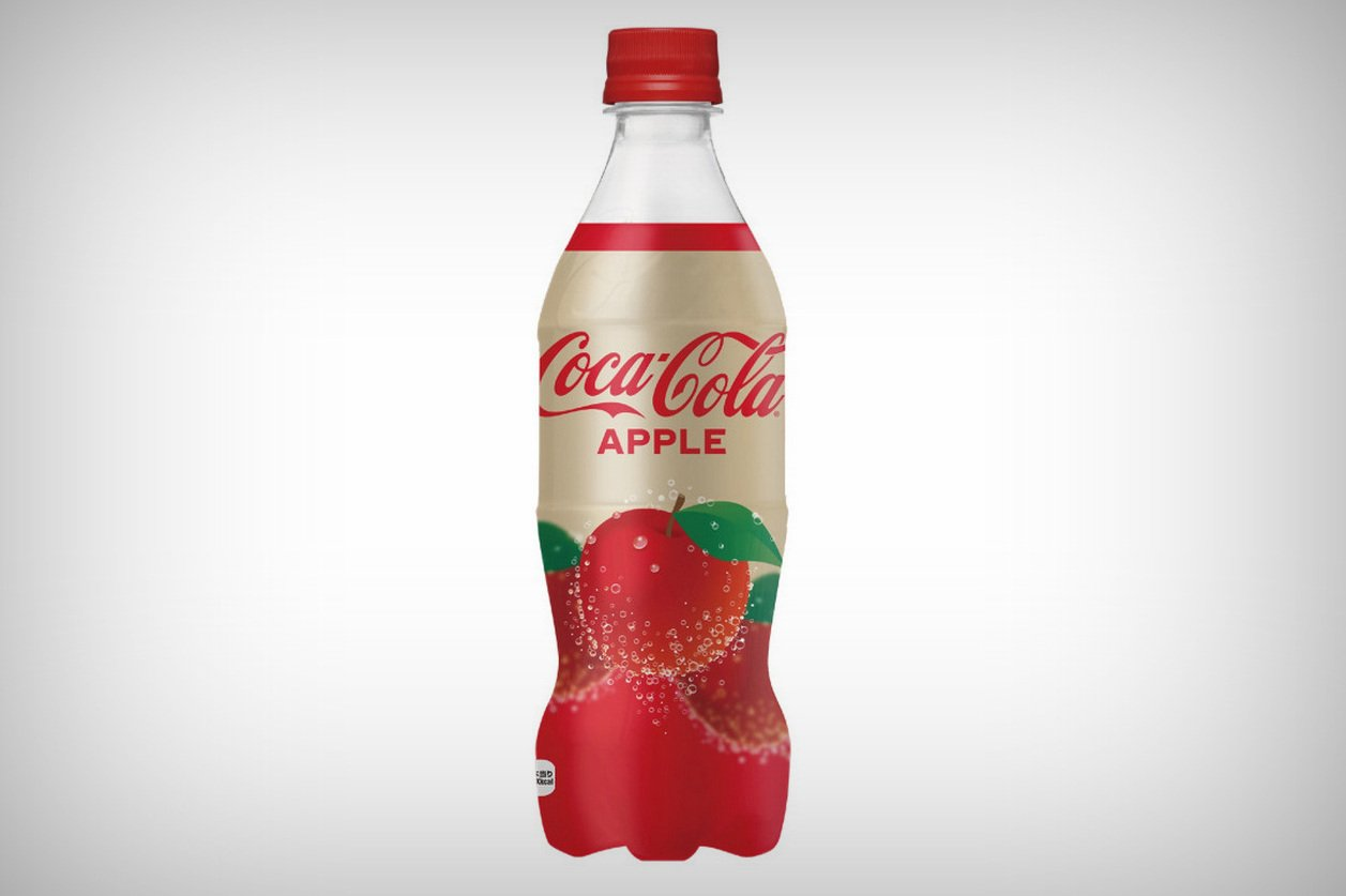 World's first apple-flavoured Coca-Cola comes to Japan
