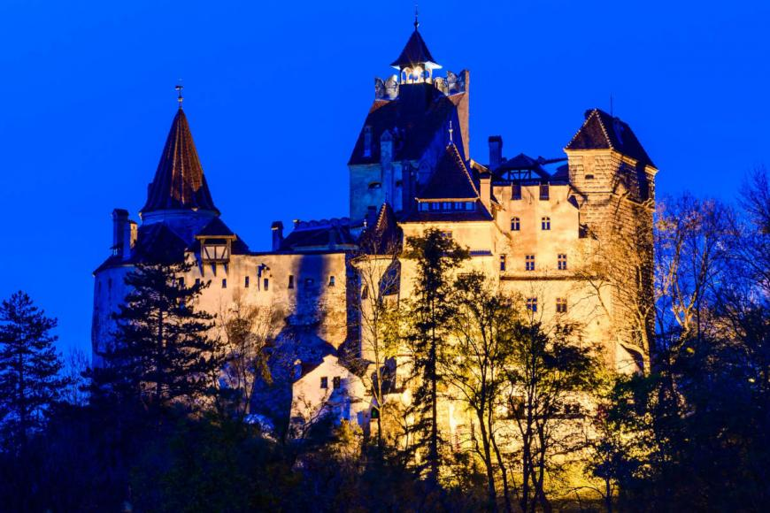 Dance the night away at Dracula's Castle in Transylvania with a horror movie and live DJ -