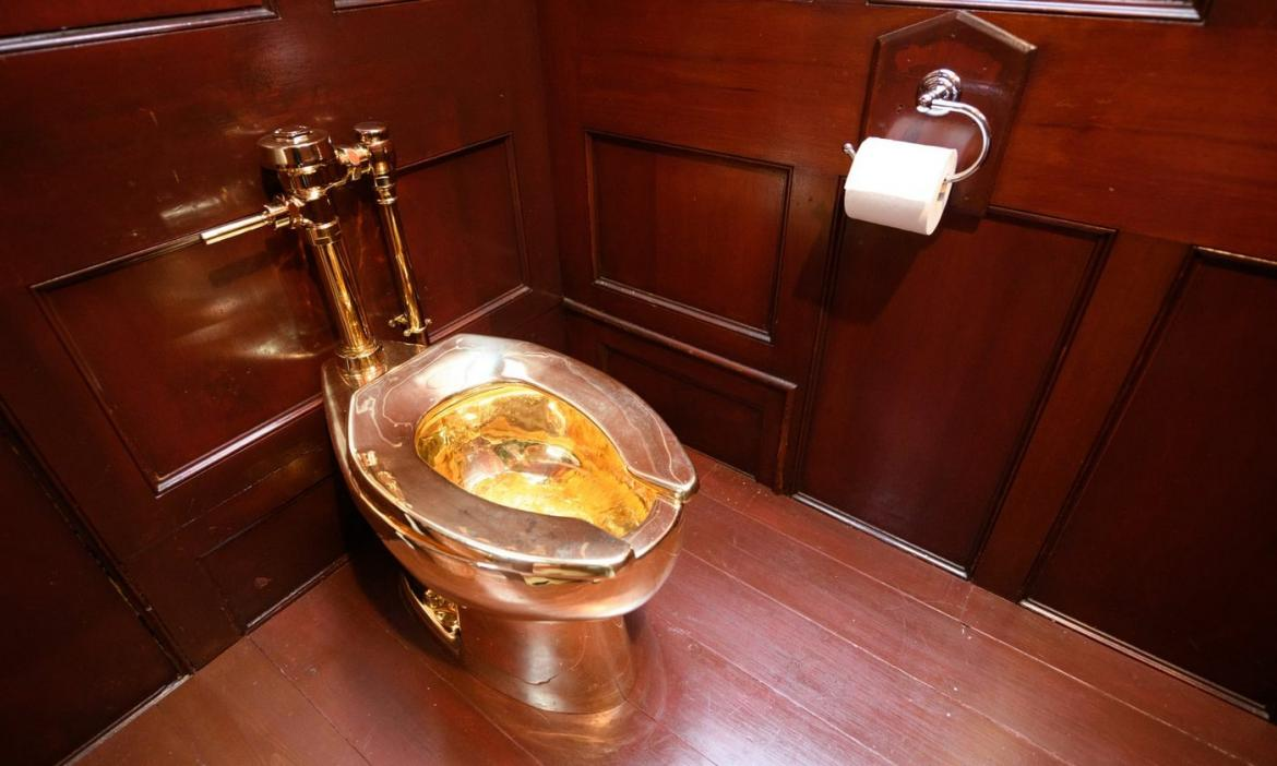 Flushed Felony: A solid gold toilet worth $6 million stolen from a UK palace -