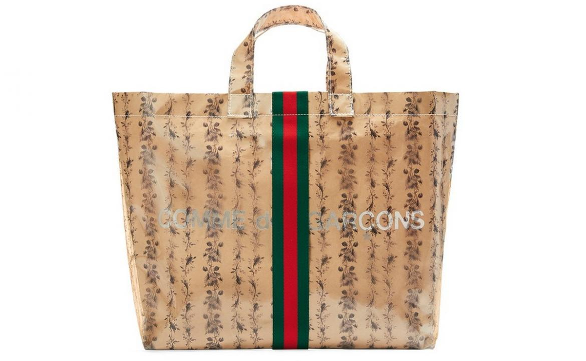 Gucci and Comme des Garçons team up once again for Limited-Edition Tote bag -