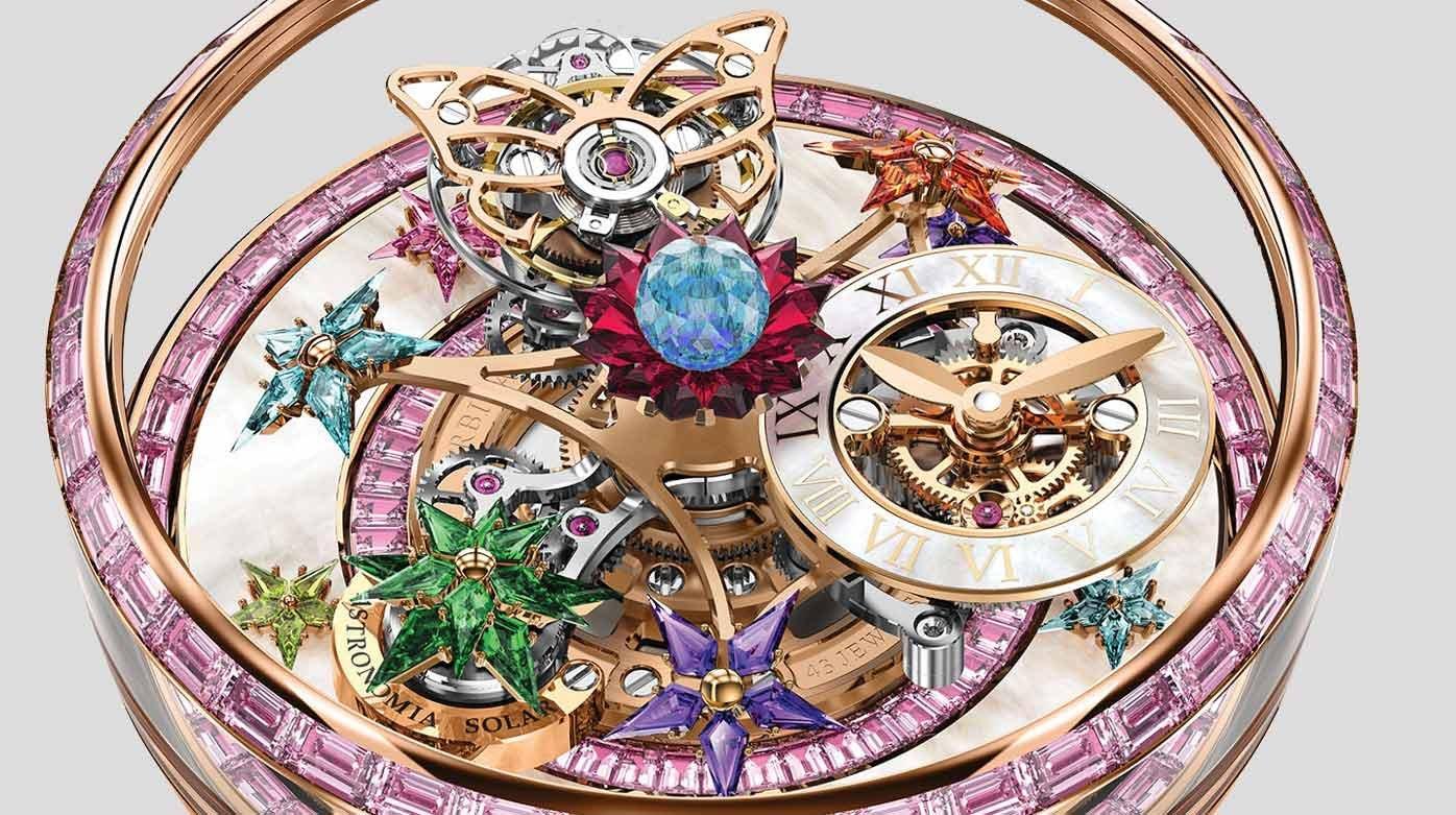 Jacob and co Fleurs de Jardin a women's timepiece you will ...