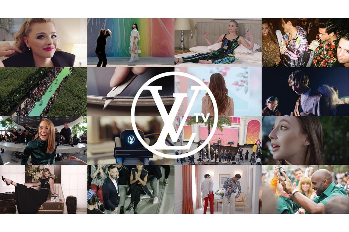 Louis Vuitton launches LVTV - A Youtube channel giving Behind the scenes access -