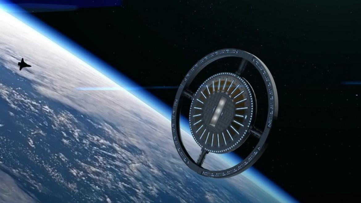 The World's first space hotel with artificial gravity is set to open doors by 2025 -