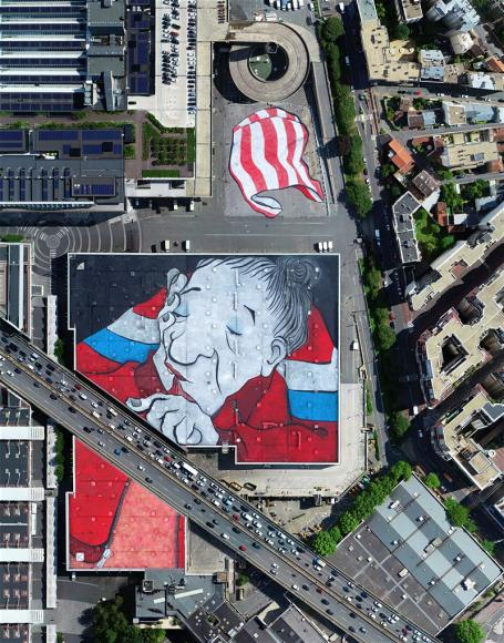 worlds largest street mural paris (1)