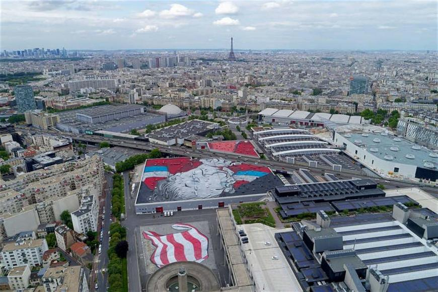 Paris is now home to the worlds largest street mural