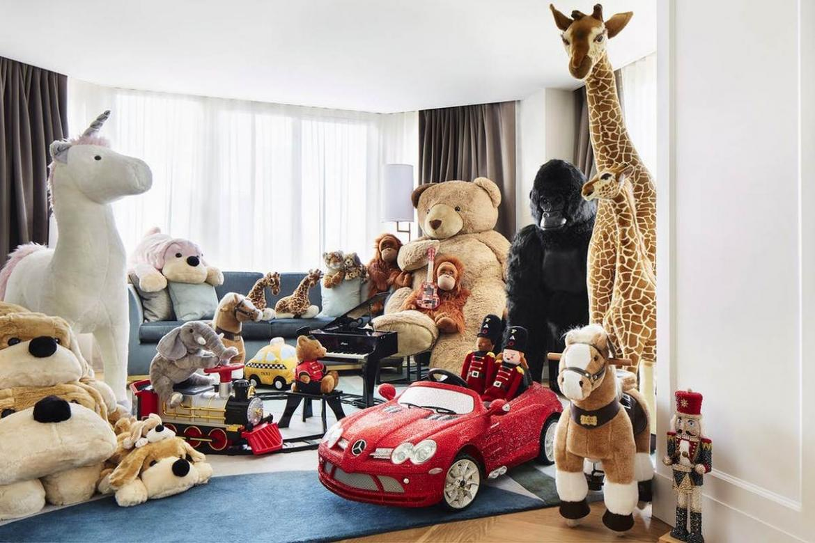Why should kids have all the fun? FAO Schwarz partners with Conrad New York for a toy-filled suite -