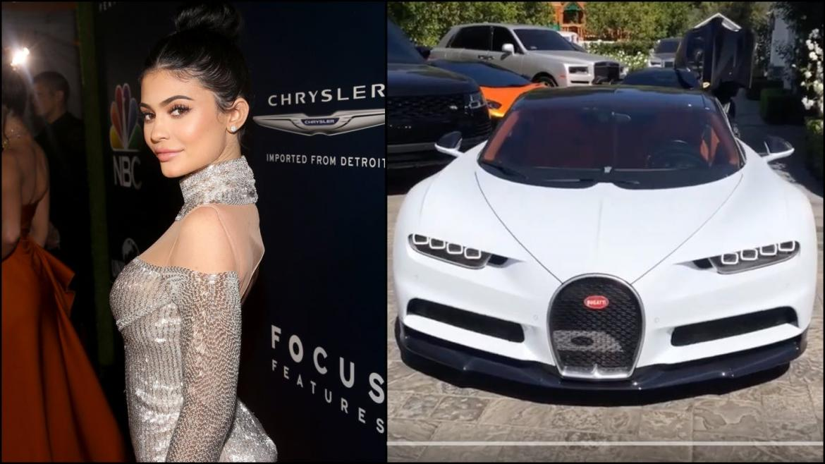 The video Kylie Jenner deleted after fans pointed out on her for showing off a $3 million Bugatti Chiron hypercar -