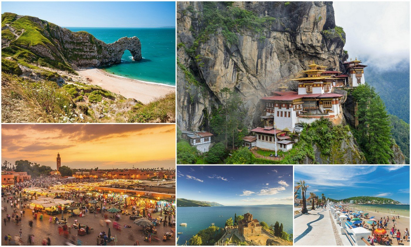 Revealed The 10 best travel destinations for 2020