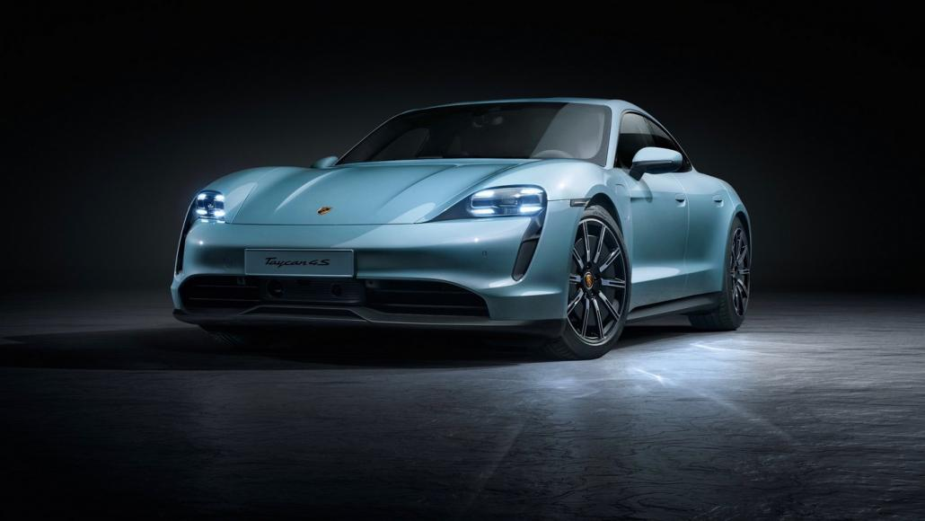 Porsche has unveiled an entry-level Taycan 4S it has a smaller battery pack but still costs $104,000 -