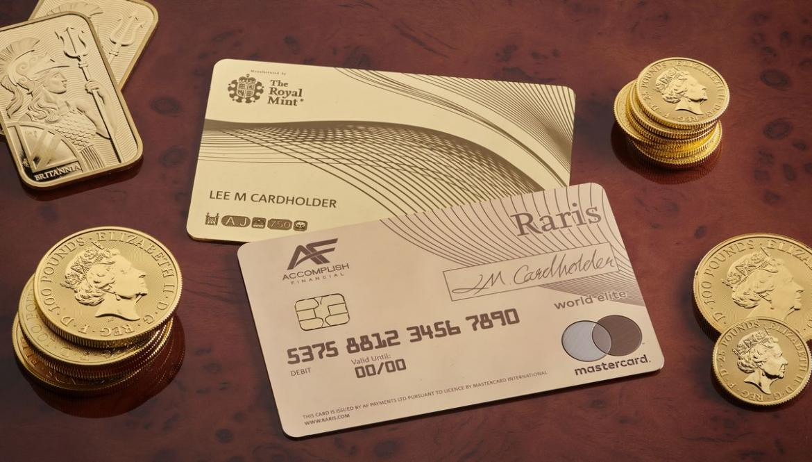 Could this be the most exclusive debit card in the world? Its made of pure gold and costs a whopping $20,000 -
