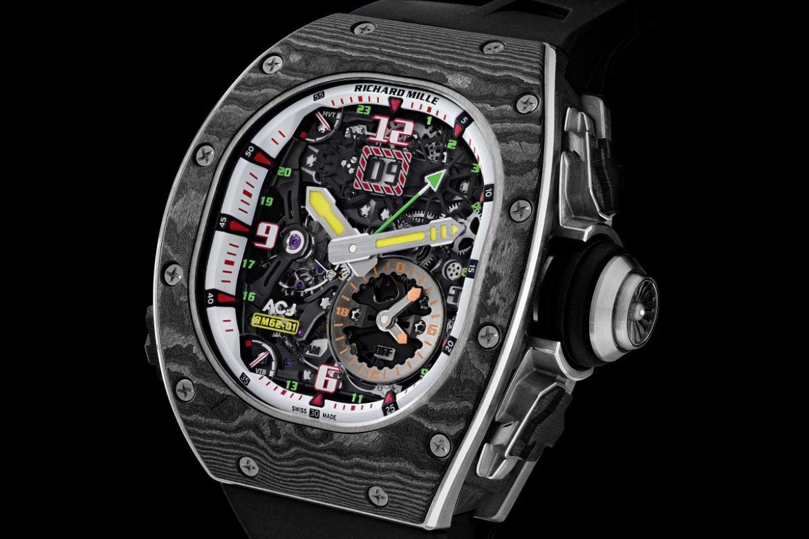 Always defying the odds - Check out Richard Mille's vibrating watch -