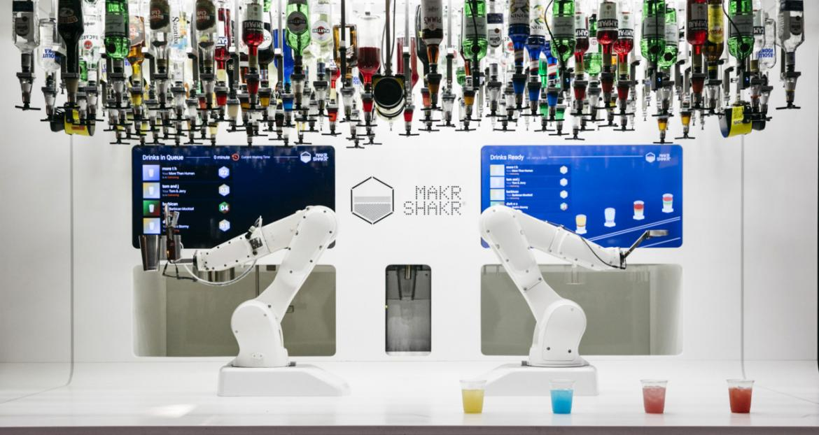 London's famed Selfridges is home to world's first cocktail-making robot, Toni -